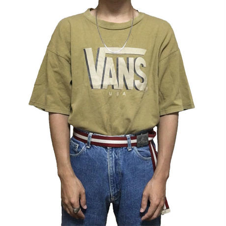 【USED】90'S VANS USA T-SHIRT