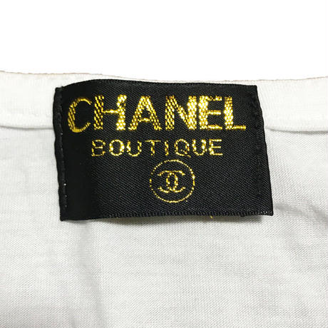 【USED】80'S-90'S BOOTLEG CHANEL T-SHIRT
