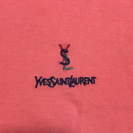 【USED】90'S  YVES SAINT LAURENT POLO SHIRT MADE IN ITALY