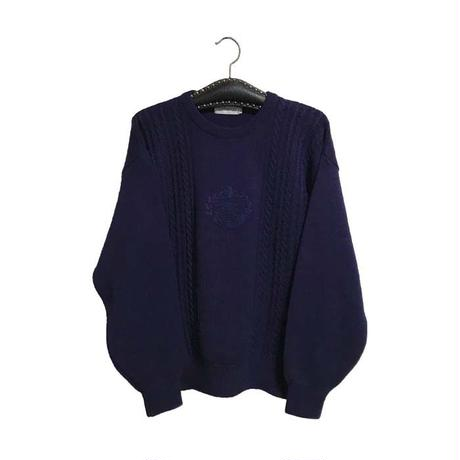 【USED】90'S BURBERRYS KNIT SWEATER