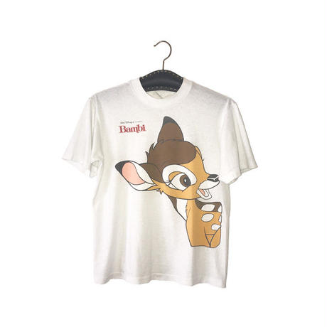 【USED】80'S-90'S DISNEY BAMBI T-SHIRT