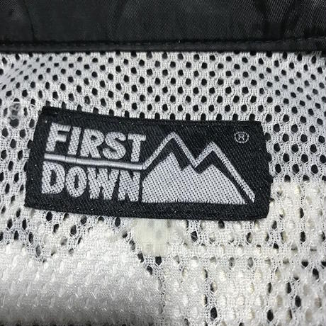 【USED】90'S FIRST DOWN COACH JACKET