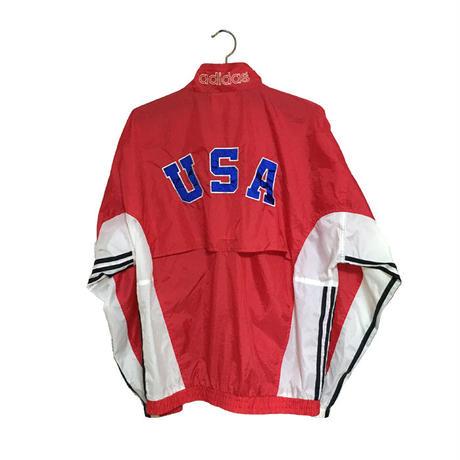 【USED】90'S ADIDAS NYLON JACKET OLYMPIC MODEL