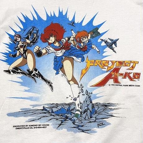 【DEAD STOCK】90'S PROJECT A-KO T-SHIRT
