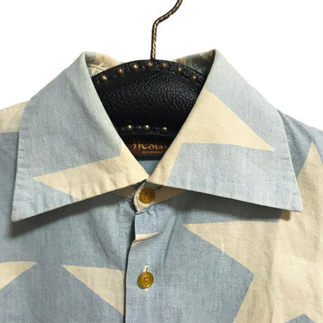 【USED】80'S VIVIENNE WESTWOOD STAR CHAMBRAY SHIRT