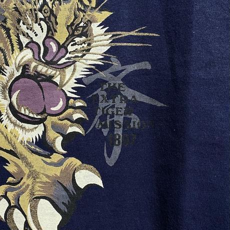 【DEAD STOCK】90'S KANSAI YAMAMOTO TORA T-SHIRT (ONEITA BODY)