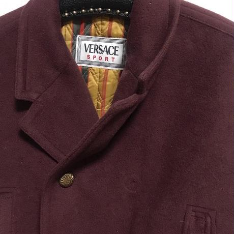 【USED】90'S VERSACE SPORT SHORT COAT