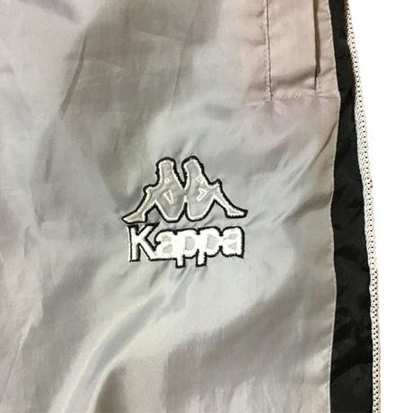 【USED】90'S KAPPA TRACK PANTS SILVER