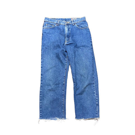 【USED】WRANGLER CUT-OFF JEANS