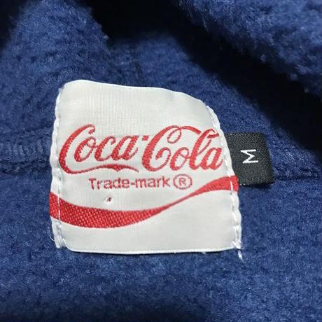 【USED】90'S COCA-COLA FLEECE HOODIE