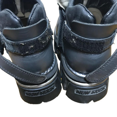 【USED】NEW ROCK HYBRID HEAVY BOOTS