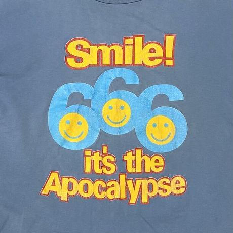 【USED】90'S ANARCHIC ADJUSTMENT 666 T-SHIRT