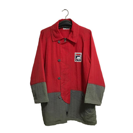 【USED】90'S FILA NYLON COVERALL