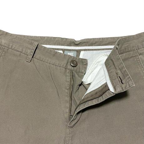 【USED】00'S NIKE COTTON ZIP PANTS