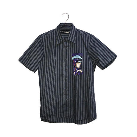 【DEAD STOCK】90'S HOOK-UPS WITCH SHIRT