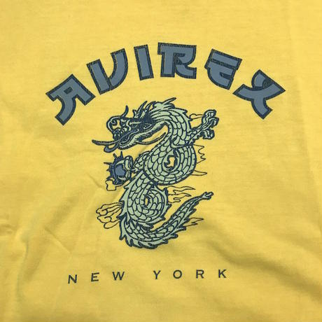【USED】90'S AVIREX DRAGON T-SHIRT