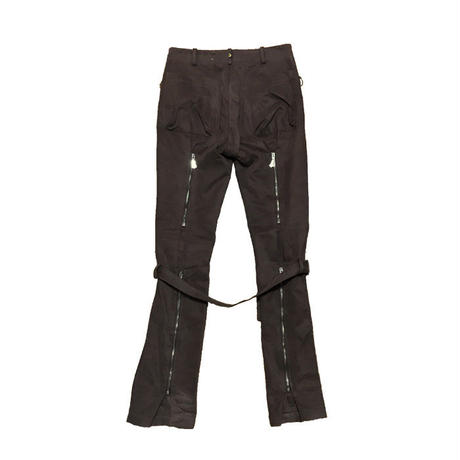 【USED】90'S ANGLOMANIA VIVIENNE WESTWOOD BONDAGE TROUSERS BROWN