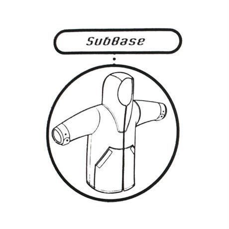 """【USED】90'S ANARCHIC ADJUSTMENT CORDUROY ANORAK JACKET """"SubBase"""" NAVY"""