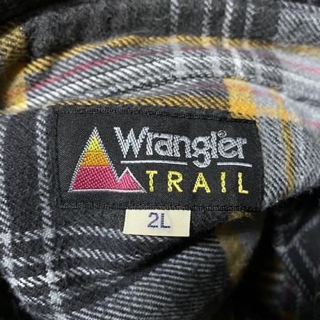 【USED】90'S WRANGLER FLANNEL SHIRT