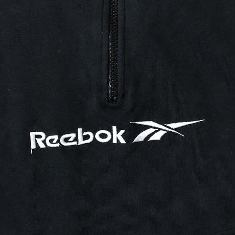 【USED】90'S  REEBOK HALF ZIP HIGH-NECK SWEATSHIRT