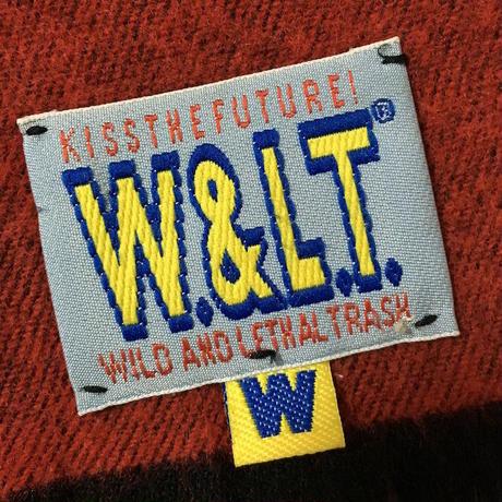 【USED】90'S W&LT PUK-PUK WOOL SCARF