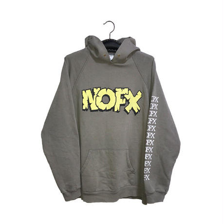 【USED】90'S  NOFX MONS-TOUR HOODIE
