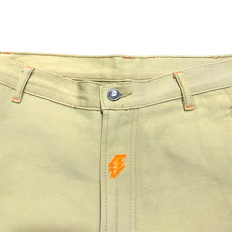 【USED】90'S W.&L.T. KNEE POCKET TROUSERS