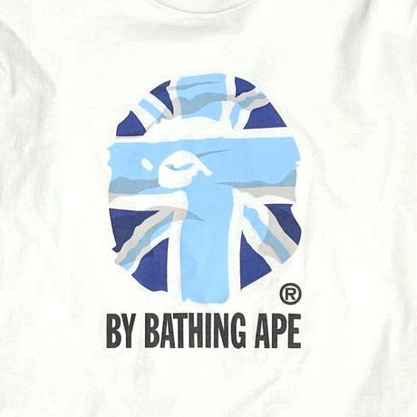 "【USED】90'S A BATHING APE ""UNION APE"" L/S T-SHIRT"