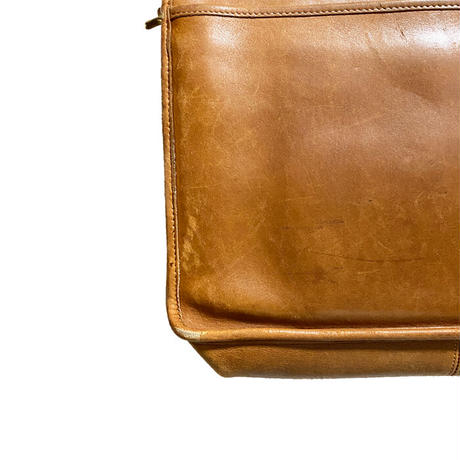 【USED】80'S-90'S OLD COACH LEATHER BRIEFCASE