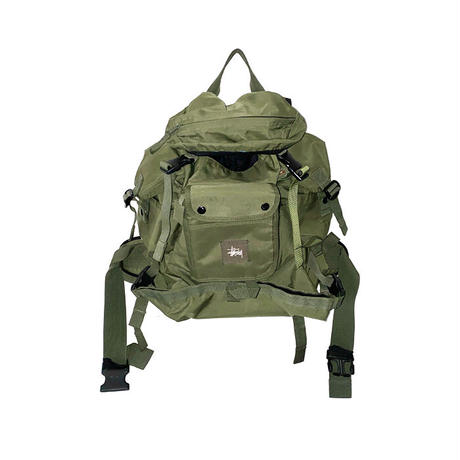 【USED】00'S STUSSY GIMMICK BACKPACK