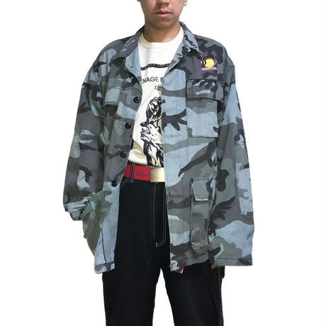 【USED】90'S  ANARCHIC ADJUSTMENT CAMO JACKET