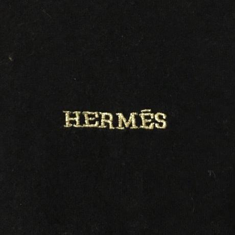【USED】VINTAGE HERMES LOGO T-SHIRT