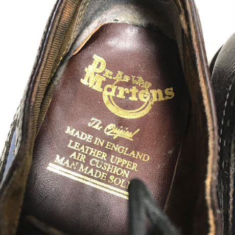 【USED】DR. MARTENS WING TIP SHOES BLUE
