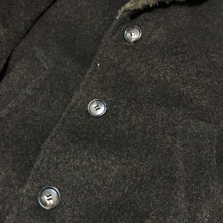 【USED】VINTAGE SHAWL COLLAR WOOL COAT
