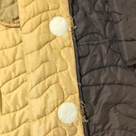 【USED】90'S W&LT OVER SIZED QUILTING COAT