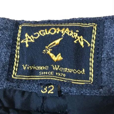 【USED】90'S ANGLOMANIA VIVIENNE WESTWOOD WOOL BONDAGE TROUSERS