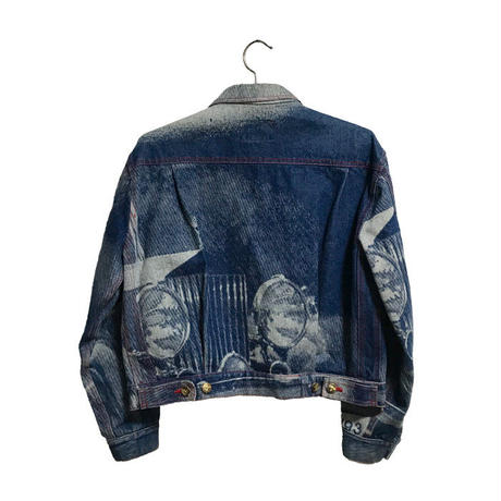 【USED】90'S VIVIENNE WESTWOOD ROLLS-ROYCE DENIM JACKET