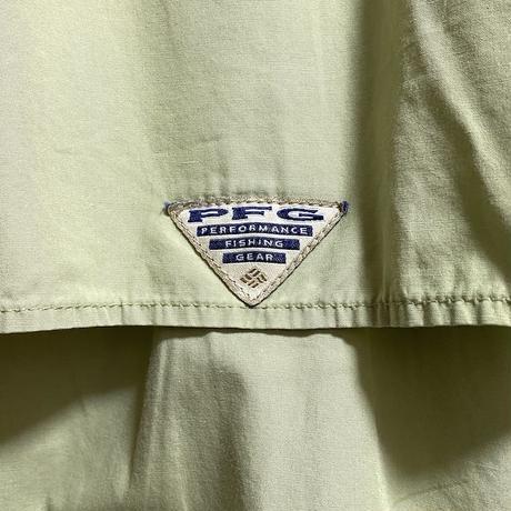 【USED】90'S COLUMBIA PFG FISHING S/S SHIRT