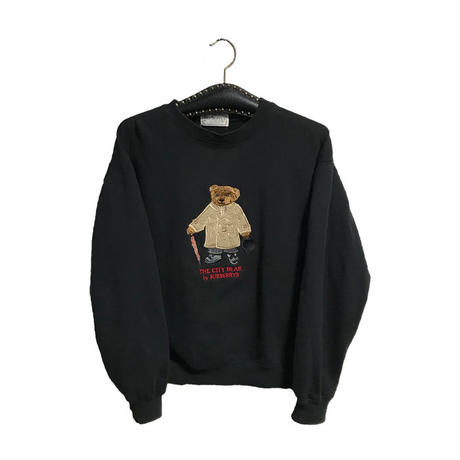 【USED】90'S BUBERRYS BEAR SWEATSHIRT