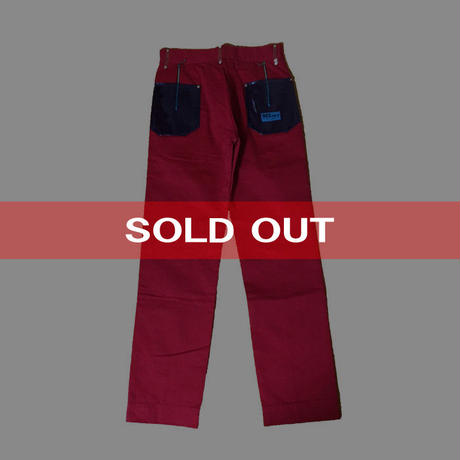 【DEADSTOCK】REPRODUCT SEDITIONARIES DONKEY TROUSERS