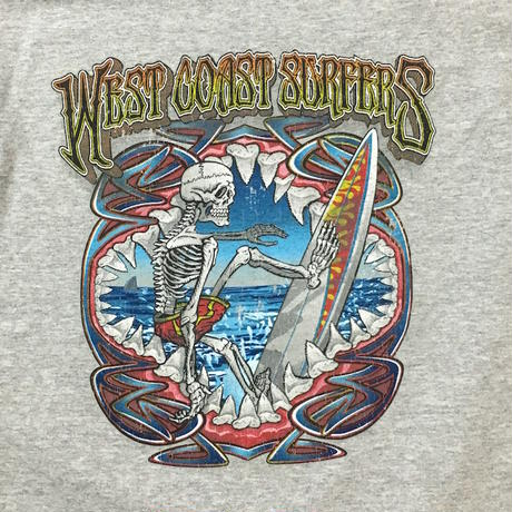 【USED】WEST COAST SURFERS T-SHIRT