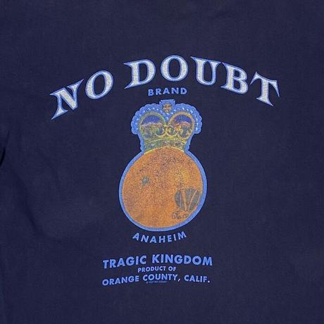 "【USED】90'S NO DOUBT ""TRAGIC KINGDOM"" T-SHIRT"