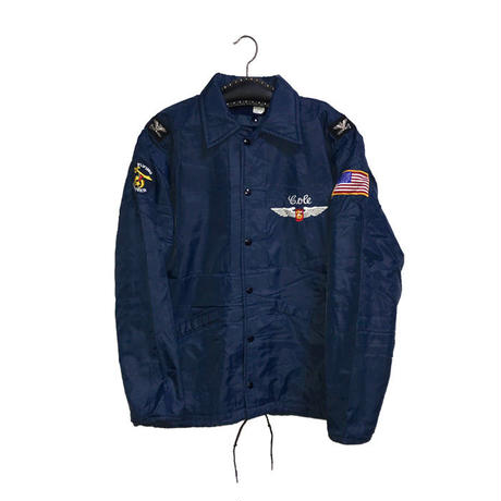 【USED】80'S FREEMASON SHRINER COACH JACKET