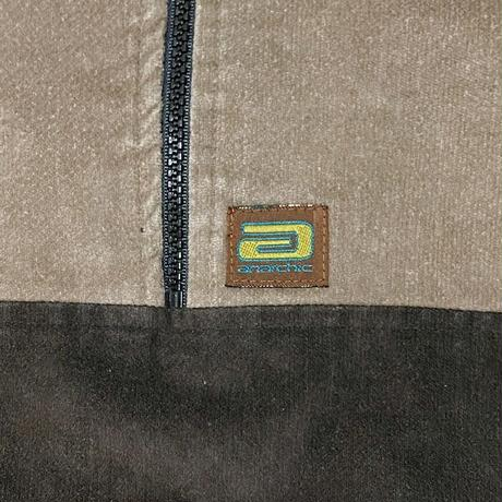"""【USED】90'S ANARCHIC ADJUSTMENT PULLOVER VELOUR SHIRT """"Huxley"""""""