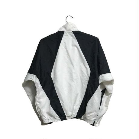 【USED】90'S NIKE NYLON JACKET BLACK & WHITE