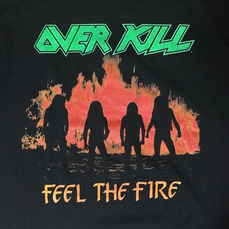 【USED】80'S OVERKILL T-SHIRT