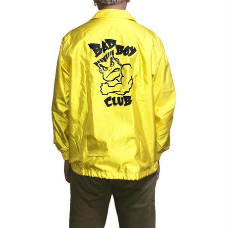 【USED】90'S  BAD BOY CLUB COACH JACKET YELLOW