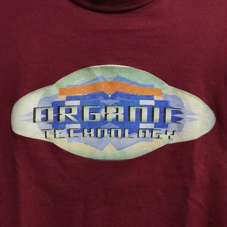 "【USED】90'S  ANARCHIC ADJUSTMENT L/S T-SHIRT ""ORGANIC TECHNOLOGY"""