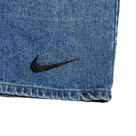 【USED】90'S NIKE DENIM SHORTS