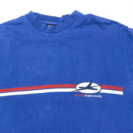 【USED】90'S STUSSY SUPER SONIC L/S T-SHIRT